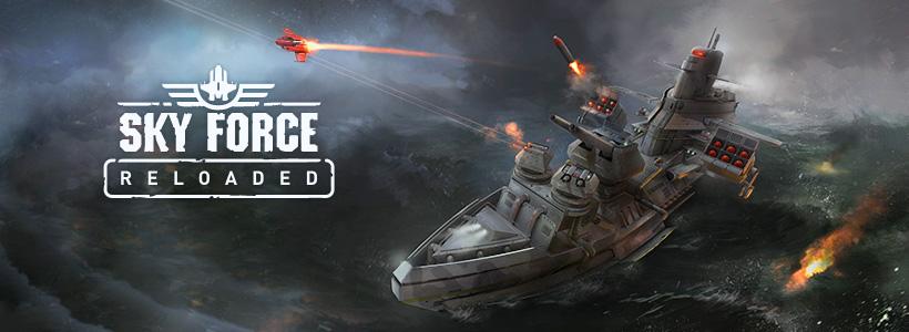 تحديث لعبه Sky Force Reloaded v1.20 مهكره جاهزه (روعه)
